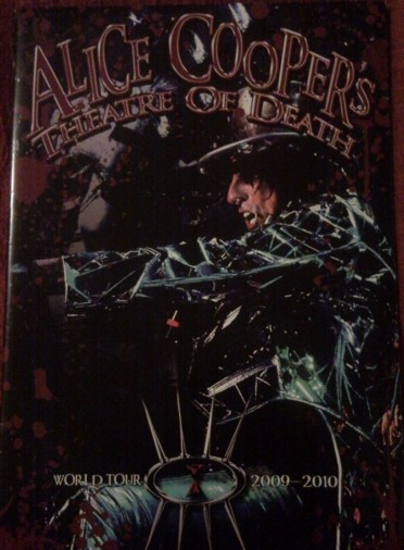 Theatre of Death World Tour program