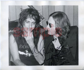 Alice Cooper and John Lennon