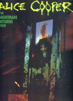 The Nightmare Returns tour program