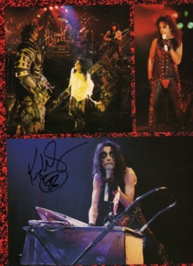 Nightmare Returns Tour Program signed